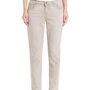 Eileen Fisher Organic Cotton Boyfriend Jeans Grey